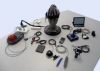 Several hardware components used to build custom assistive technologies